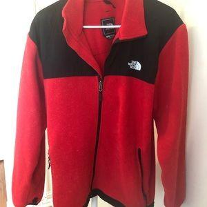 Men's Red Northface Jacket
